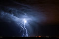 Tucson Lightning Royalty Free Stock Photo