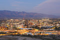 The Tucson skyline at dusk Royalty Free Stock Photo