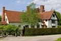Tudor manor Arkivbilder