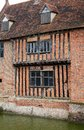 Tudor moat house Royalty Free Stock Image