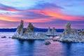 Tufa formations in mono lake lee vining california usa Stock Photo