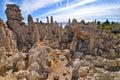 Tufa spires rising out of mono lake california usa Stock Photos