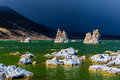 Tufa towers in mono lake california state natural reserve usa Royalty Free Stock Photography