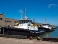 Tug boats docked en san francisco Foto de archivo