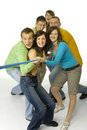 Tug of war Royalty Free Stock Photos