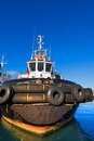 Tugboat in the Harbor Royalty Free Stock Photo