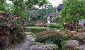 Tuin in suzhou dichtbij shanghai china Royalty-vrije Stock Foto
