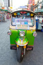 Tuk tuk car front Royalty Free Stock Photos