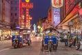 Tuk Tuk in China Town