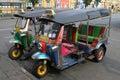 Tuk-tuk street taxi Stock Photos