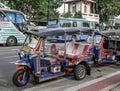 stock image of  Tuk tuk taxi in Bangkok, Thailand