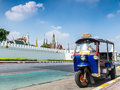 Tuk-Tuk, Thai traditional taxi in Bangkok Thailand