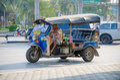 TUK TUK Thailand taxi. Royalty Free Stock Photo