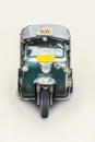 Tuk tuk thailand tricycle as small taxi Royalty Free Stock Photos