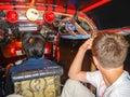 stock image of  Tuktuk driver in Bangkok