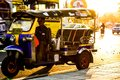 tuktuk taxi in bangkok thailand Royalty Free Stock Photo