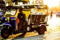 tuktuk taxi in bangkok thailand Royalty Free Stock Photo