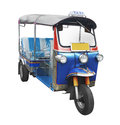 Tuktuk taxi in thailand Royalty Free Stock Photo