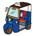 Tuktuk (Thailand Taxi) Royalty Free Stock Photo