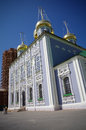 Tula kremlin uspensky cathedral russian architecture Royalty Free Stock Photo