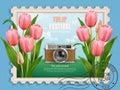 Tulip festival ads