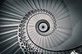 Tulip staircase drottnings hus Royaltyfri Bild
