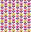 Tulips pattern design