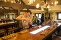 Tullamore dew whiskey distillery tour Royalty Free Stock Photo