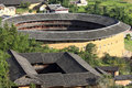 Tulou in china Stock Image