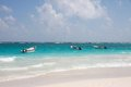 Tulum beac mexico the beach of quintana roo Royalty Free Stock Photos