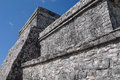 Tulum mayan ruins in mexico Royalty Free Stock Image