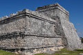 Tulum mayan ruins in mexico Royalty Free Stock Photos