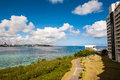 Tumon Bay in Guam Royalty Free Stock Photo
