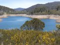 The Tumut lake in the Snowy mountains Royalty Free Stock Image