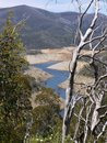 The Tumut lake in the Snowy mountains Stock Photos