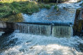 Tumwater Falls Water Curtain Royalty Free Stock Photo