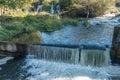Tumwater Falls Water Curtain 5 Royalty Free Stock Photo