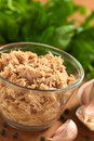 Tuna in Glass Bowl Stock Photos