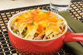 Tuna Noodle Casserole Royalty Free Stock Images