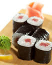 Tuna Roll Royalty Free Stock Photo