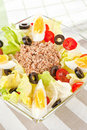 Tuna salad. Stock Images