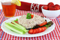 Tuna salad meal Stock Photos
