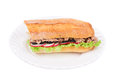 Tuna sandwich Photo stock