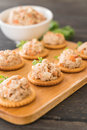 Tuna Spread With Cracker