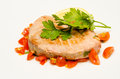 Tuna steak Royalty Free Stock Photo