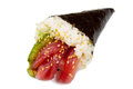 Tuna Sushi Cone Royalty Free Stock Photo