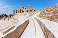 Tunisian Amphitheatre in El Djem, Tunisia Royalty Free Stock Photos