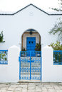 Tunisian House Stock Photos
