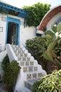 Tunisian House Entrance Royalty Free Stock Photo