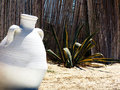 Tunisian jug. Stock Photo